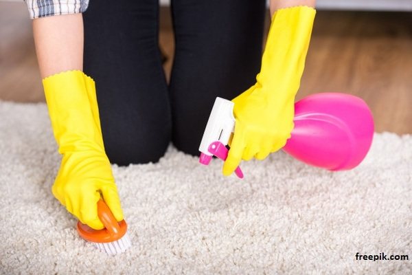 Tips on How to Remove Paint Stains From Your Rug